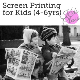 http://bobbinandink.com/classes/printing/screen-printing-for-kids-4-to-6-year-olds/