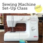 Learn to set-up a sewing machine.