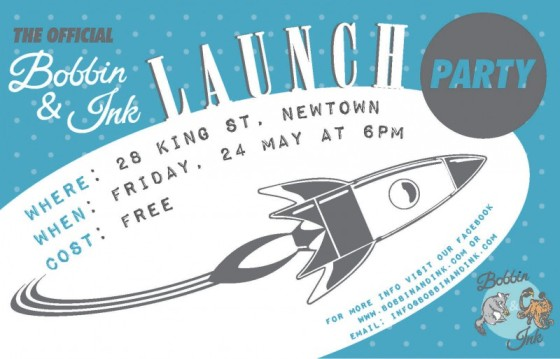 Bobbin and Ink Launch Party