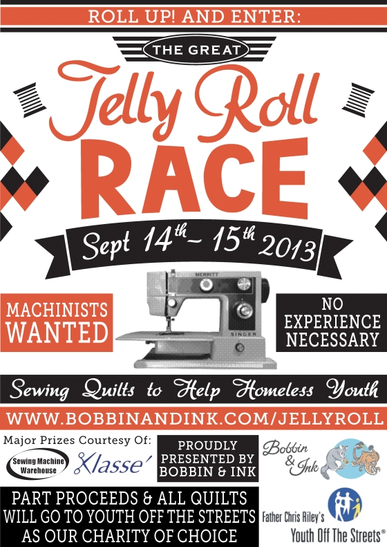 The Great Jelly Roll Race Poster