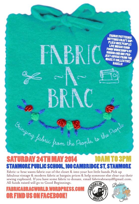 Fabric-a-brac Sydney 2014